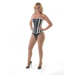 Viva Leather Overbust  Corset ***